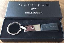BOLLINGER CHAMPAGNE JAMES BOND 007 SPECTRE KEYRING COLLECTORS ITEM RARE