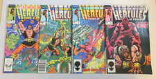 Hercules Prince Of Power Mini Series 1 2 3 4 COMPLETE SET (Marvel Comics 1983)