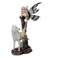 Reika - Large Fairy & Wolf Figurine / Nemesis Now / Fairys / Wolf / Dreamcatcher