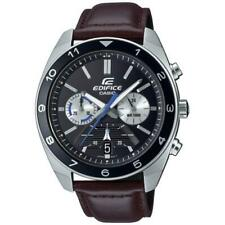 CASIO Edifice EFV-590L-1AVUEF Chronograph Edelstahl/Leder NEU!!!