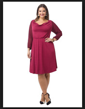 5692fdbfa1f NEW IGIGI MULBERRY SOLEIL BLOUSON DRESS PLUS SIZE 18 20