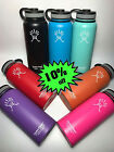 18oz/32oz/40oz/64 Hydro Flask Wide Mouth Insulated Stainless Steel Water Bottle