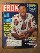 "EBONY Magazine Fresh Prince ""Will Smith"" August 1996"