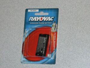 Rayovac Battery For Cordless Phones TEL10213 2.4V 700mAH NEW