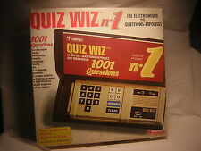 QUIZ WIZZ n1 Capedia 1980     jeu electronique  genre Game& Watch