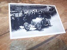 Photo  / Photograph  Meo Costantini BUGATTI 35  Targa Florio 1926 //