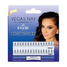 Vegas Nay Pretty Perfect False Eyelashes by Eylure - Fake Lashes + Adhesive