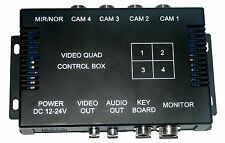 4 Channel Quad Video Control Box