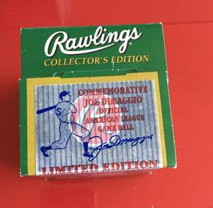 Rawlings 1998 Commemorative Joe Dimaggio Official American League Game Ball