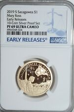2019-S Sacagawea-Mary Ross Dollar NGC PF-69 Ultra Cameo Early Releases