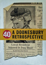A DOONESBURY RETROSPECTIVE - GARY TRUDEAU - HARDCOVER + SLIP COVER - SEALED