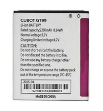 Battery replacement 2200mAh for 'CUBOT' P5, GT99 android smartphone