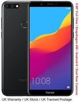 """Huawei Honor 7C 5.99"""" Android Snapdragon 450 Octa Core Dual Rear 13MP Cameras"""