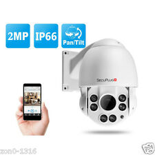 Outdoor 2.0MP Middle Speed Dome IR IP PTZ Camera with 10X Optical Night Vision