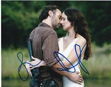 Sarah Wayne Callies Andrew Lincoln Signed 8X10 Photo The Walking Dead Coa A