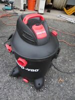 SHOP VAC SL-14-400 Wet Dry Vacuum 10 Gallon 9. Am Dirt Water Floor Cleaner AS IS