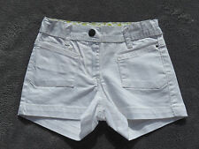 SHORT BLANC  6 ANS ♥ CAPTAIN TORTUE ♥ NEUF COL 2013 +++ ☺