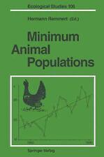 Minimum Animal Populations (Ecological Studies)