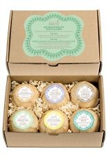 Bath Bomb Essentials Gift Set for Women: Pure Aromatherapy with 6 Calming Scents