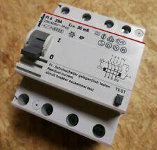 ABB SMISSLINE FI 4 25/0,03 FI-Schutzschalter 25A 30mA Typ-A Schalter