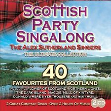 ALEX SUTHERLAND SINGERS SCOTTISH PARTY SINGALONG 2 CD - THE ULTIMATE COLLECTION