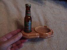 New ListingPrager Beer Miniature Beer Bottle & Ashtray C 1950 - Bills Novelties - Milwaukee
