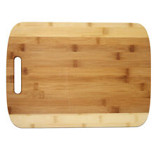 """Large Two Tone Bamboo Cutting Board,   15.75"""" by 11.5"""" and 3/4"""" , Perfect Gift"""