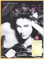 CHANEL ALLURE SENSUELLE Perfume Print Ad