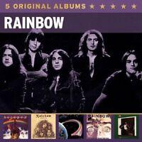 RAINBOW - 5 ORIGINAL ALBUMS 5 CD NEU