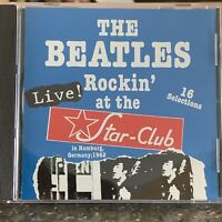 The Beatles Rare 'Rockin' At The Star-Club, 1962' NM Live CD Sony Music