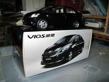 Toyota vios yaris sedan belta 1/18 model car black