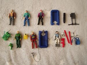 VINTAGE Kenner M.A.S.K Figure BUNDLE LOT JUNGLE CHALLENGE ADVENTURE COAST PATROL