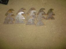 LOT OF 14 WELDABLE  TEETH TRENCHER VERMEER DITCH WITCH