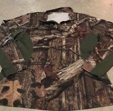 Habit Mossy Oak Break Up Infinity Performance L/S Shirt Size Large