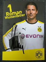Handsignierte Autogrammkarte *R. WEIDENFELLER* Borussia Dortmund 15/16 2015/2016