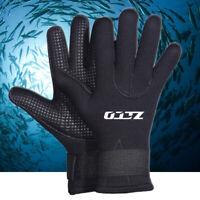 5MM Snorkeling Diving Gloves Neoprene Winter Swim Swimming Scuba Water Sport New