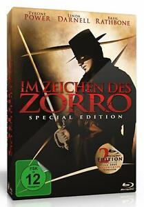 Im Zeichen des Zorro - Special Edi. [Blu-ray/NEU/OVP] Tyrone Power +Kolorierte F