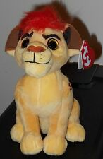 "Ty Beanie Baby ~ Disney The Lion Guard KION 6"" Plush Toy ~ NEW with MINT TAGS"