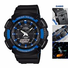 AD-S800WH-2A2 Blue Casio Men's Watch Tough Solar Analog Digital 200m Plastic New