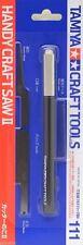 Tamiya Handy Craft Saw II Mini Razor Tool Set Plastic Model Blades #74111