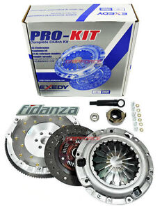 EXEDY CLUTCH KIT 07095 + FIDANZA FLYWHEEL for FORD PROBE GT MAZDA MX-6 626 2.5L