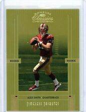 Alex Smith 05 Classics Timeless Tributes GOLD Rookie Card SP /25 49ers HOT