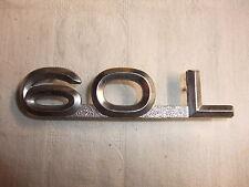 altes Original Oldtimer Emblem Schriftzug Typenschild Marke Audiemblem Audi 60 L