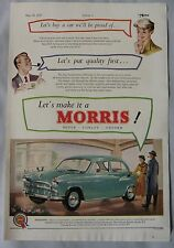 1955 Morris Original advert No.1