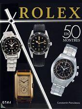 ROLEX en 50 montres, livre de C. Parvulesco (avec cotes)