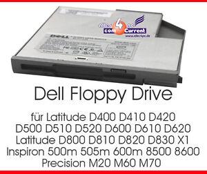 Dell Floppy Drive 7T761-A01 Latitude D500 D510 D520 D600 #D8