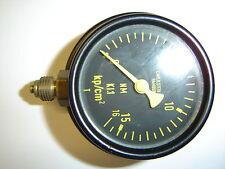 Manometer 0 - 16kp cm²  Unterdruck Druckanzeige Wilhelm Stein Hamburg