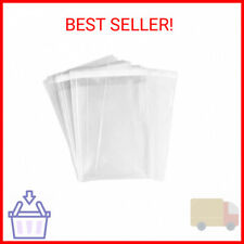 Uniquepacking 100 Pcs 6x9 Clear Resealable Cello Cellophane 6 X 9 Bags Goo