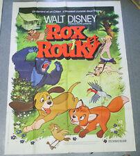 Affiche de cinéma : ROX ET ROUKY de Richard RICH, Ted BERMAN, Art STEVENS