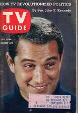 1959 TV Guide November 14 - Perry Como; Amanda Blake; James Garner; Gunsmoke;JFK